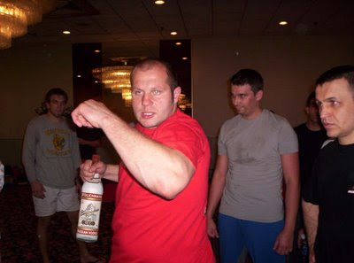 Fedor The Drunken Master