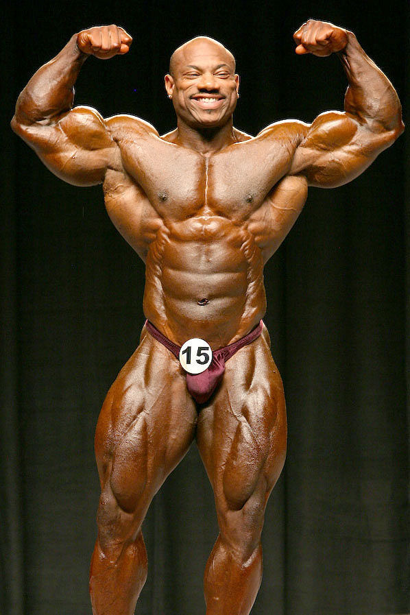 Mr. Olympia 2008 - Steroids Live  Dexter Jackson Abs
