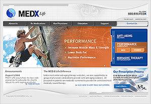 medxlife performance screen
