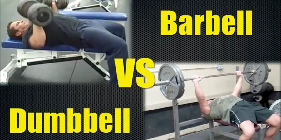 barbell vs dumbbell