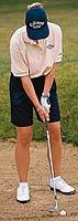 opening clubface golf