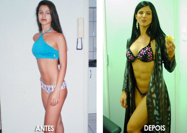 eva andressa before and after