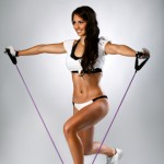 Lateral raises resistance band