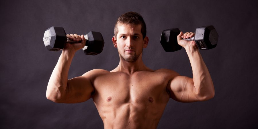 how to build wide shoulders