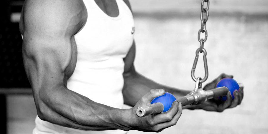 triceps press down