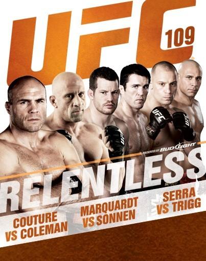 UFC 109 poster