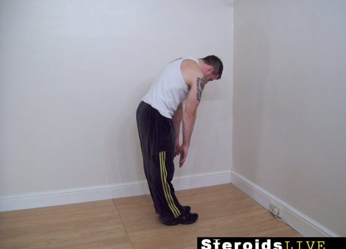 back stretching exercise 1