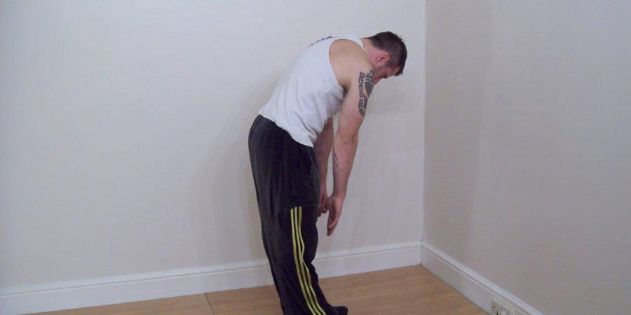 back stretching exercise 1