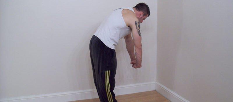 back stretching exercise 2