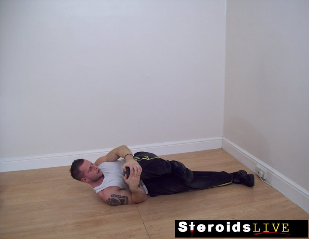 back stretching exercise 4