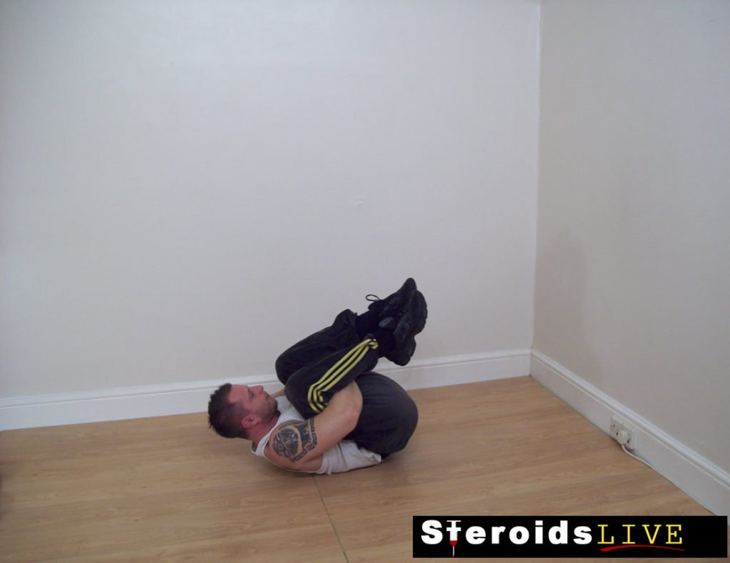 back stretching exercise 7