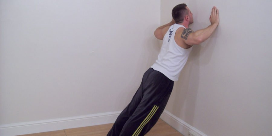 calf stretching exercise 1
