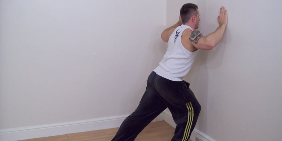 calf stretching exercise 3