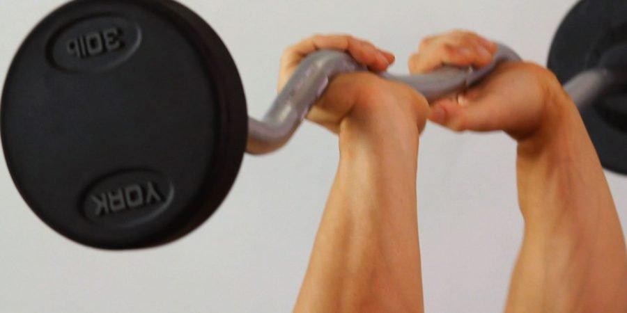close grip bench press exercise