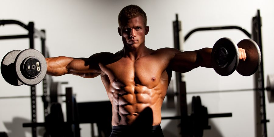 dumbbell rateral raise exercise