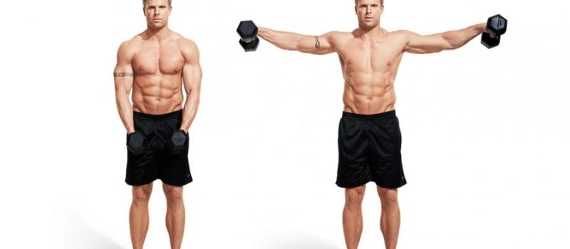 dumbbell side raise
