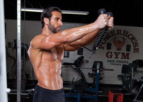 Rope Attachment For Cable Exercises