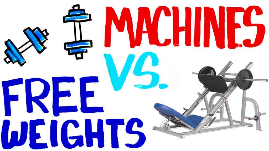 free weight vs machine