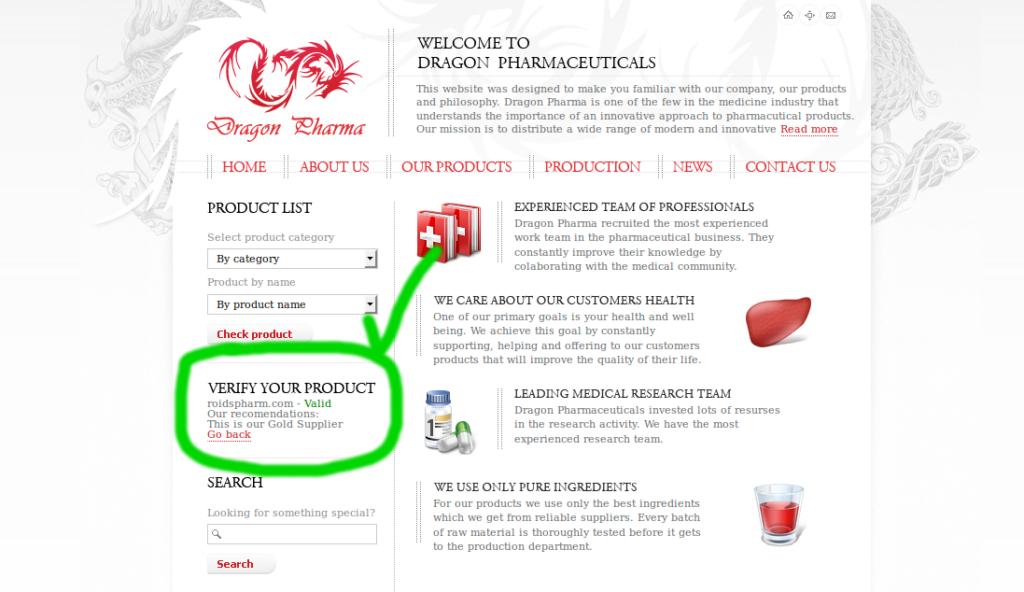 roidspharm legit dragon pharma supplier
