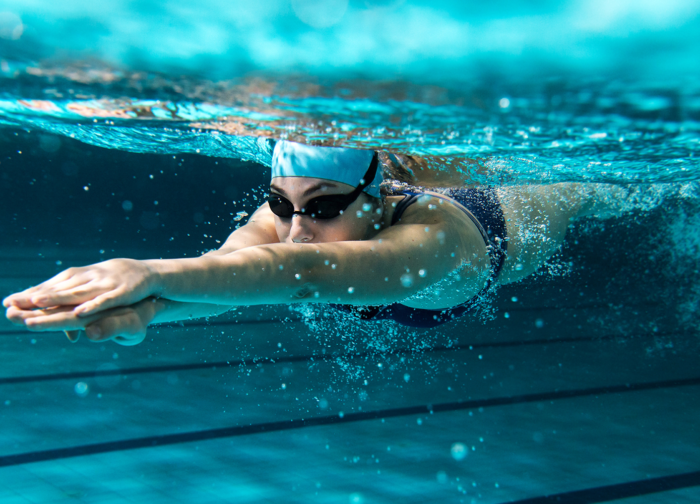 swimming pool strength workout