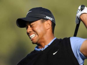 tiger woods playing injury