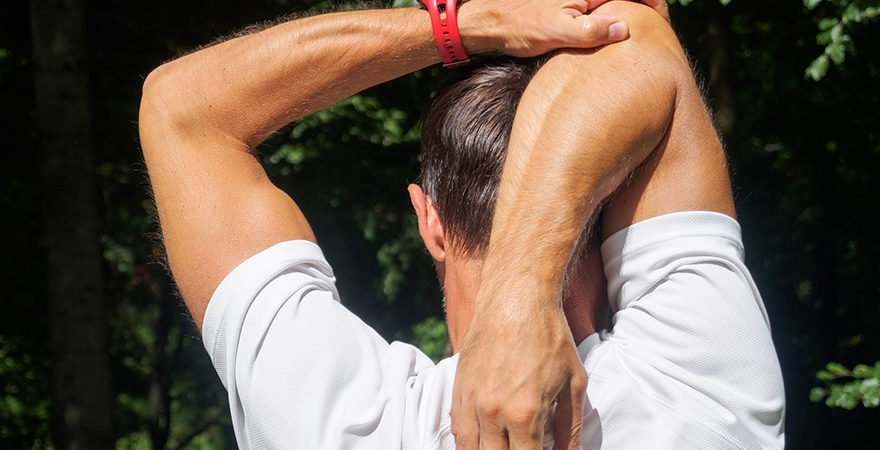 tricep stretching exercise